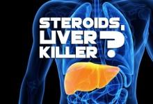 Steroids, liver killer?