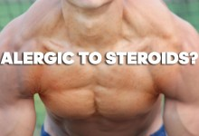 Alergic to steroids?
