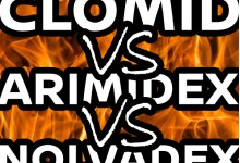 Clomid vs Nolva vs Arimidex