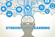 Steroids for learning