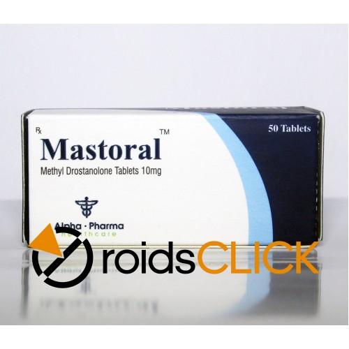 Mastoral (superdrol), Alpha Pharma