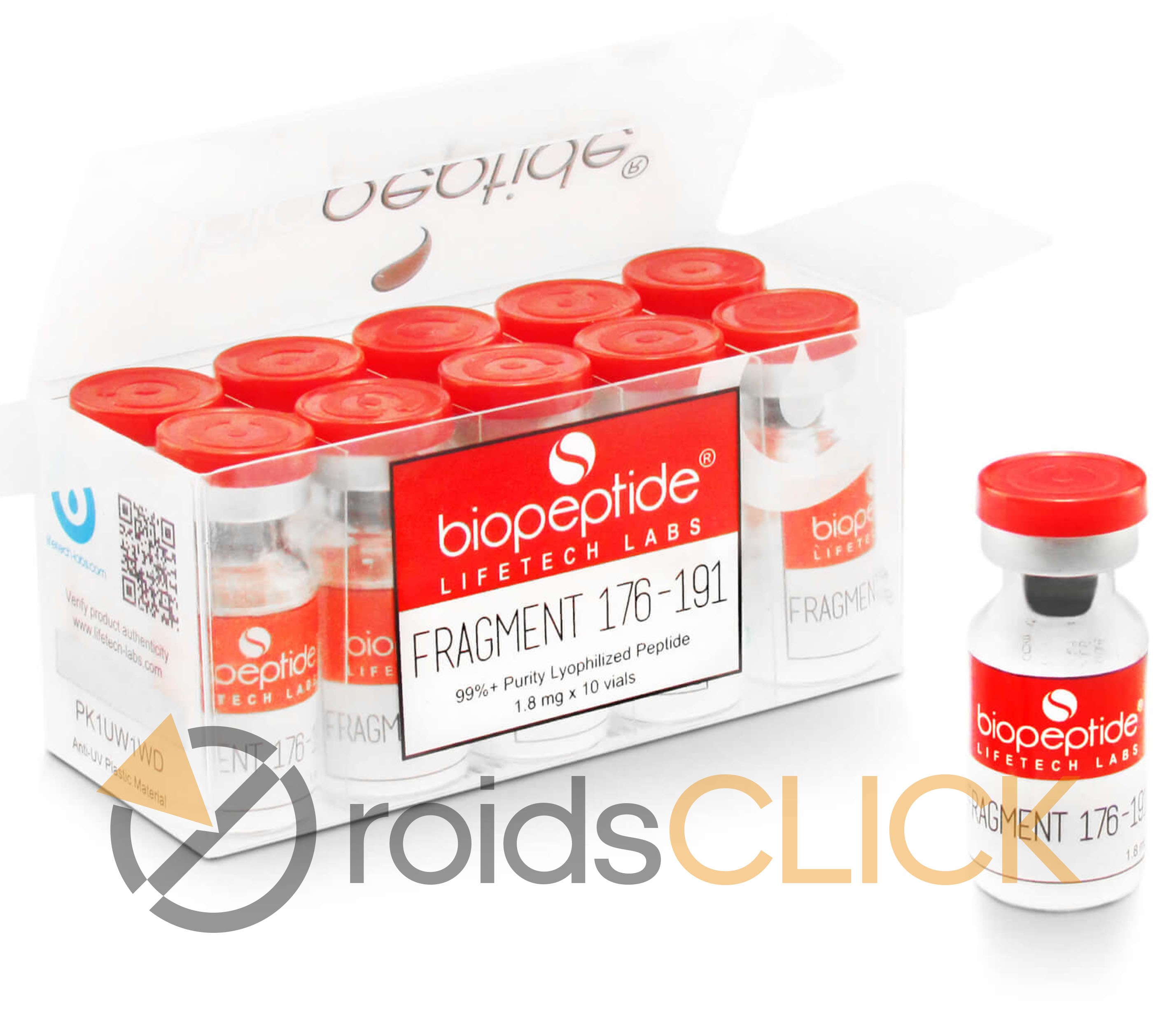 biopeptide fragment 176-191 box with 10vials